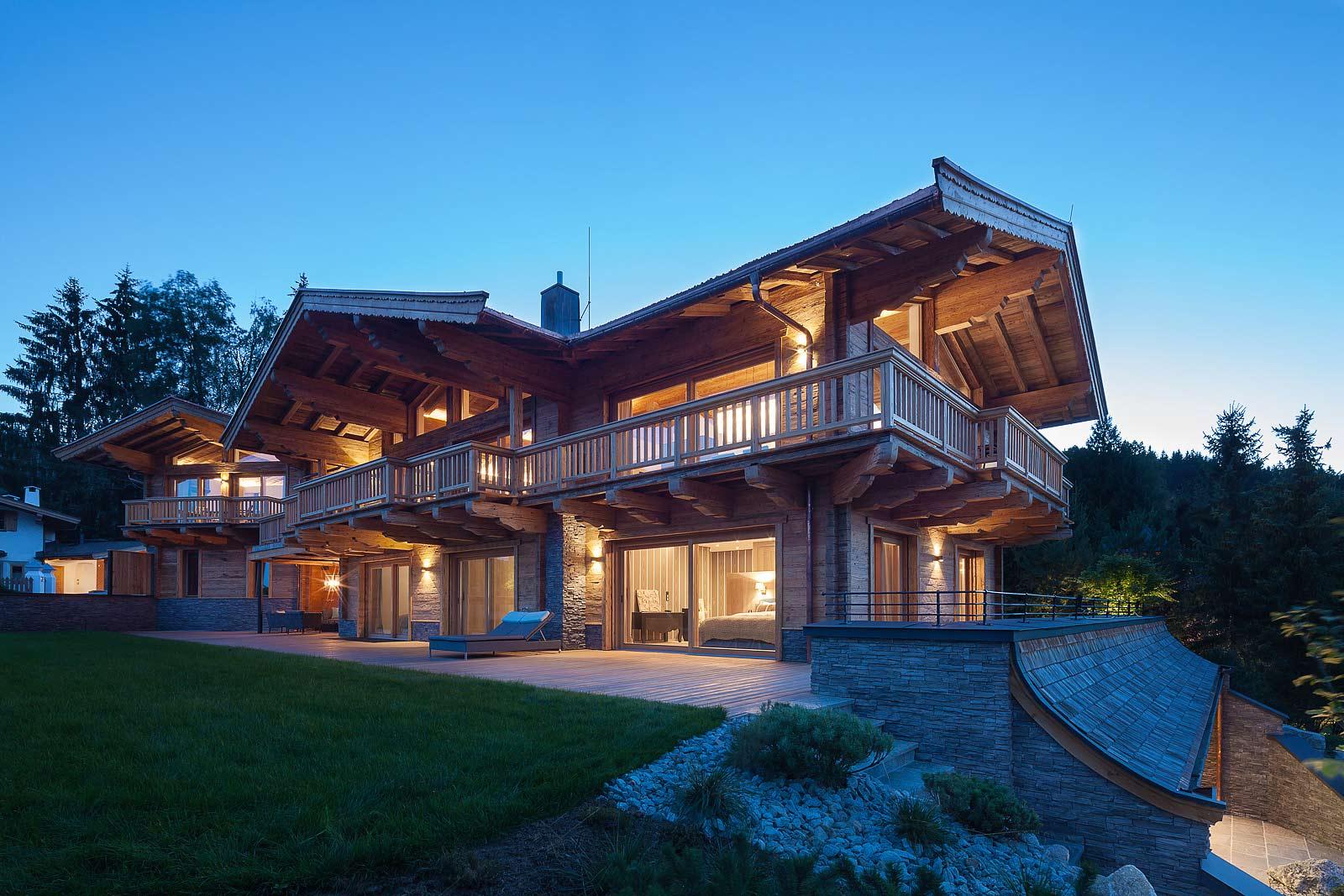 architekturfotografie Einfamilienhaus, Fotos von hochwertigen Immobilien ,Kitzbühel, Exklusives Haus, Fotografie