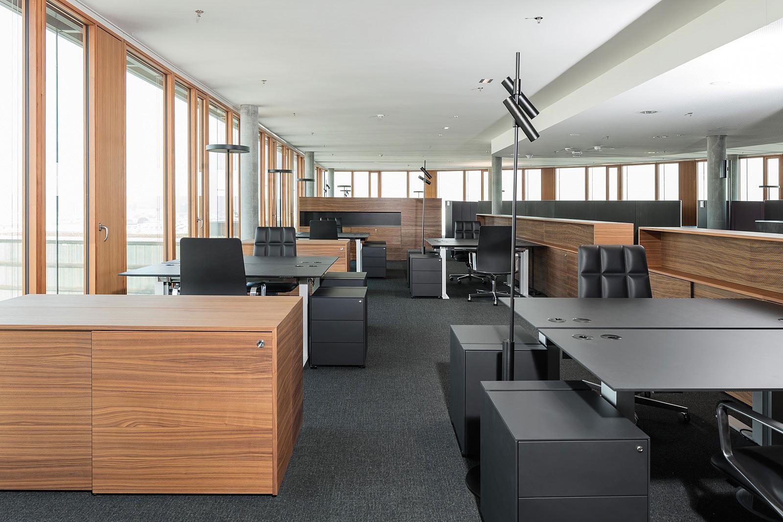 München Architekturfotograf, Büroeinrichtung, Walter Knoll, Interior Fotografie in Wien