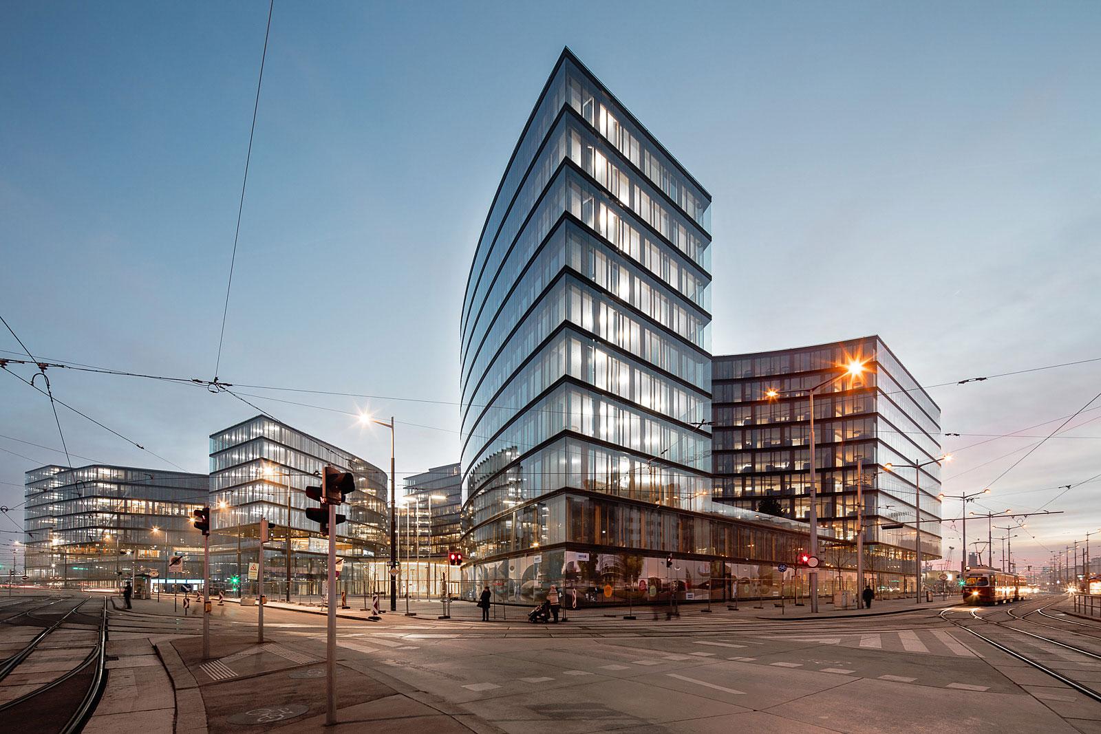 München Architekturfotograf, Henke Schreieck Architekten planen den Erste Bank Campus in Wien
