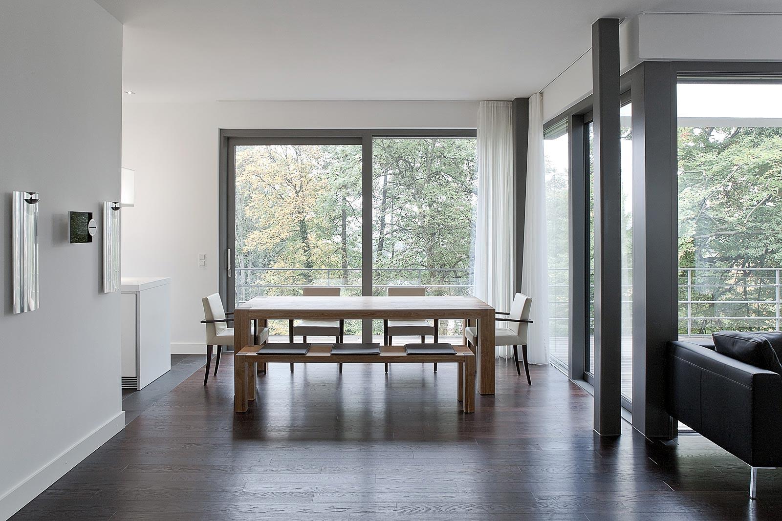Architekturfotografie von Innenräumen