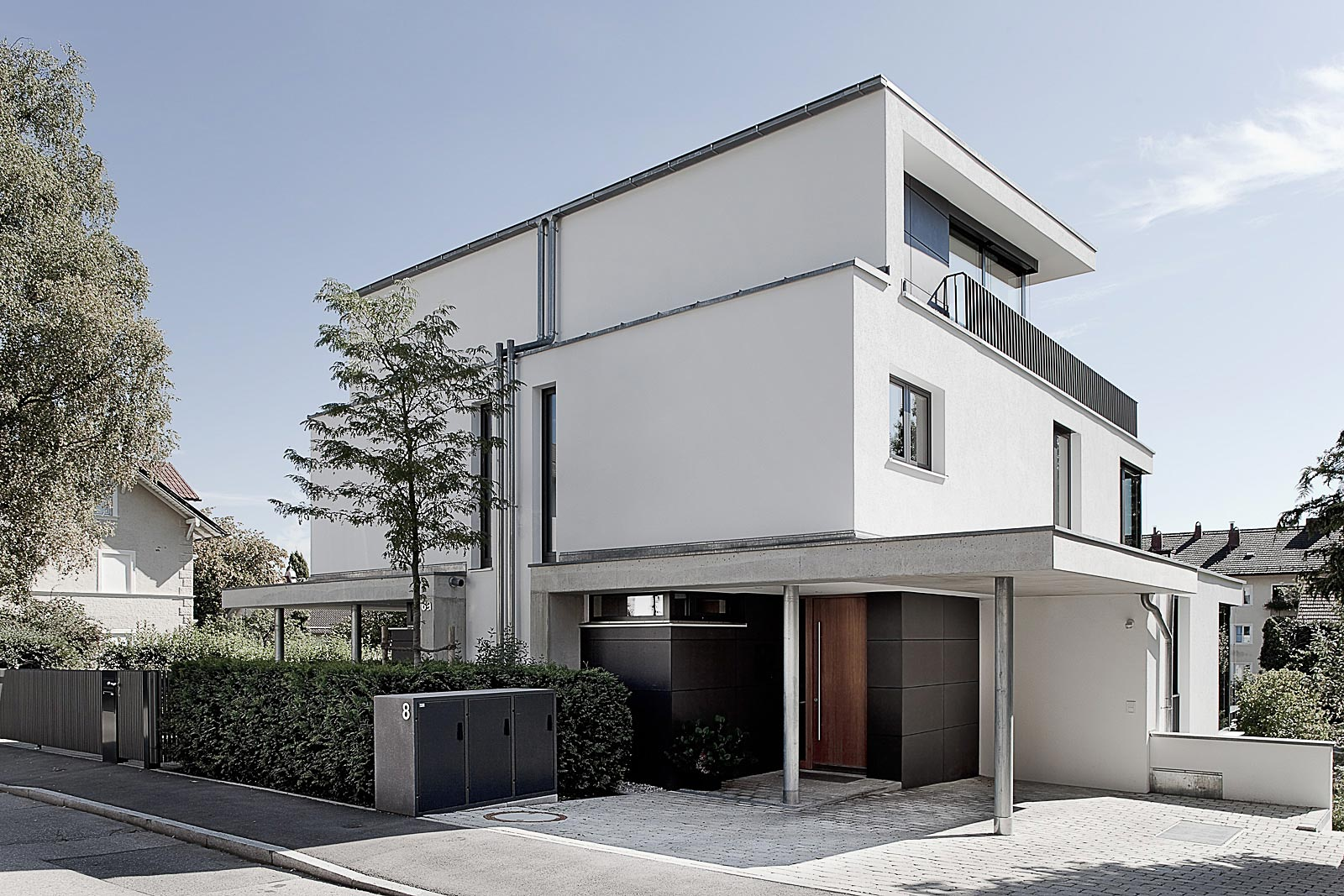 Architekturfotograf Einfamilienhaus, Kutschker & Leischner Architekten, Architekturfotograf Gabriel Büchelmeier