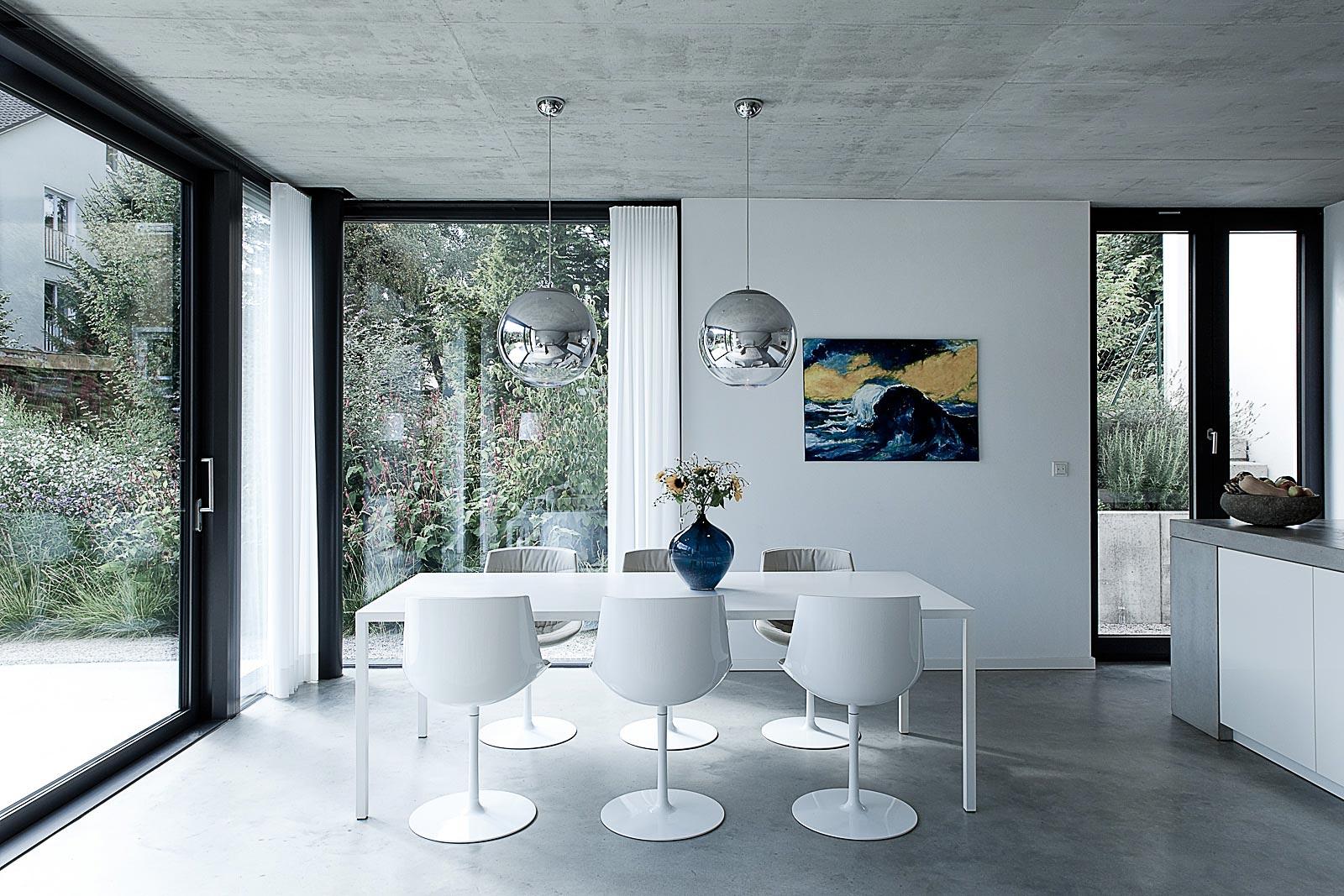 Architekturfotograf Einfamilienhaus, Kutschker & Leischner Architekten, Architekturfotografie Gabriel Büchelmeier