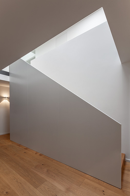 Innenaufnahme, Treppenhaus, Architekturfotografie