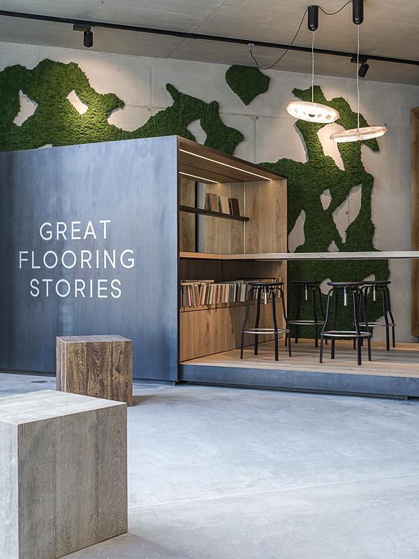 Hakwood floring,der Kitzcorner Showroom in Oberndorf, Interior Fotograf, Architekturfotograf,