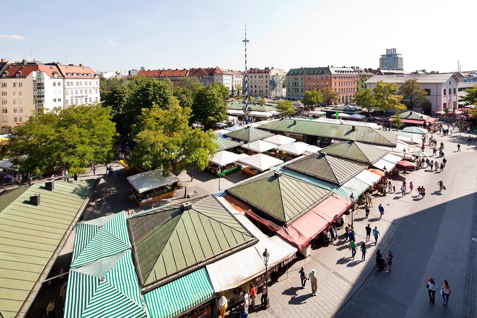 Architekturfotograf in München, Viktualien Markt