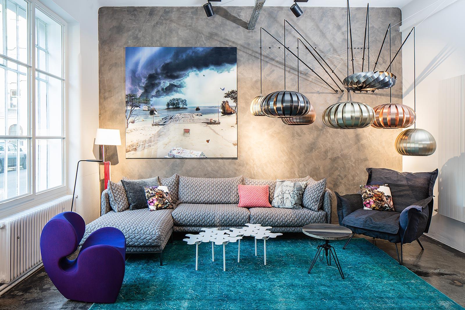 Architektur und Innenarchitektur Fotograf, Moroso im Formdepot, Wien