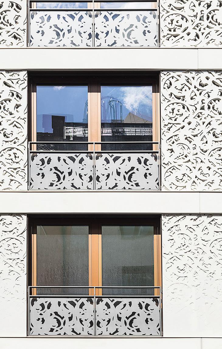 Besondere Architektur mitten in München, Architektur Fotograf, Gabriel Büchelmeier aus München