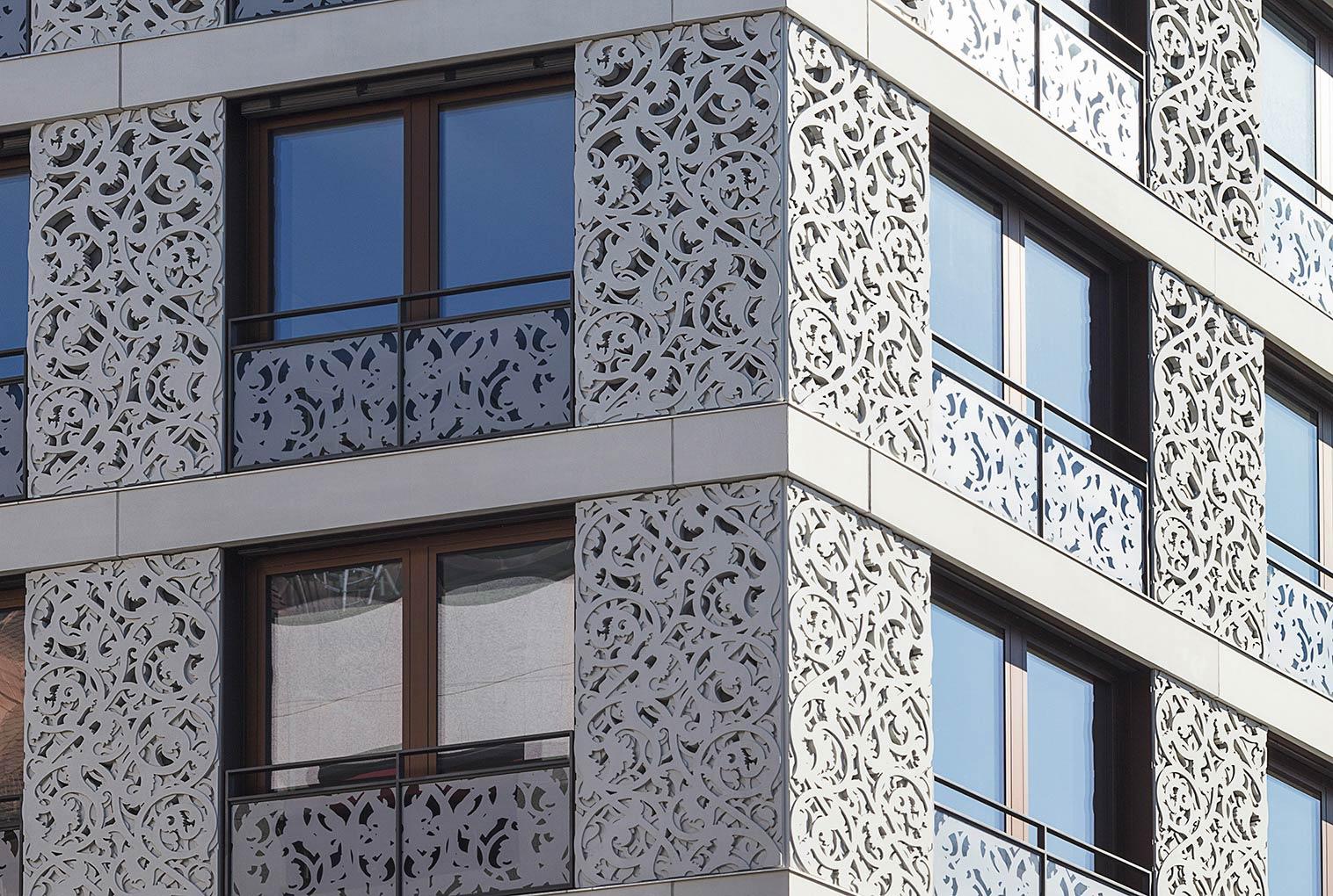 Besondere Architektur mitten in München, Fotografie Gabriel Büchelmeier aus München
