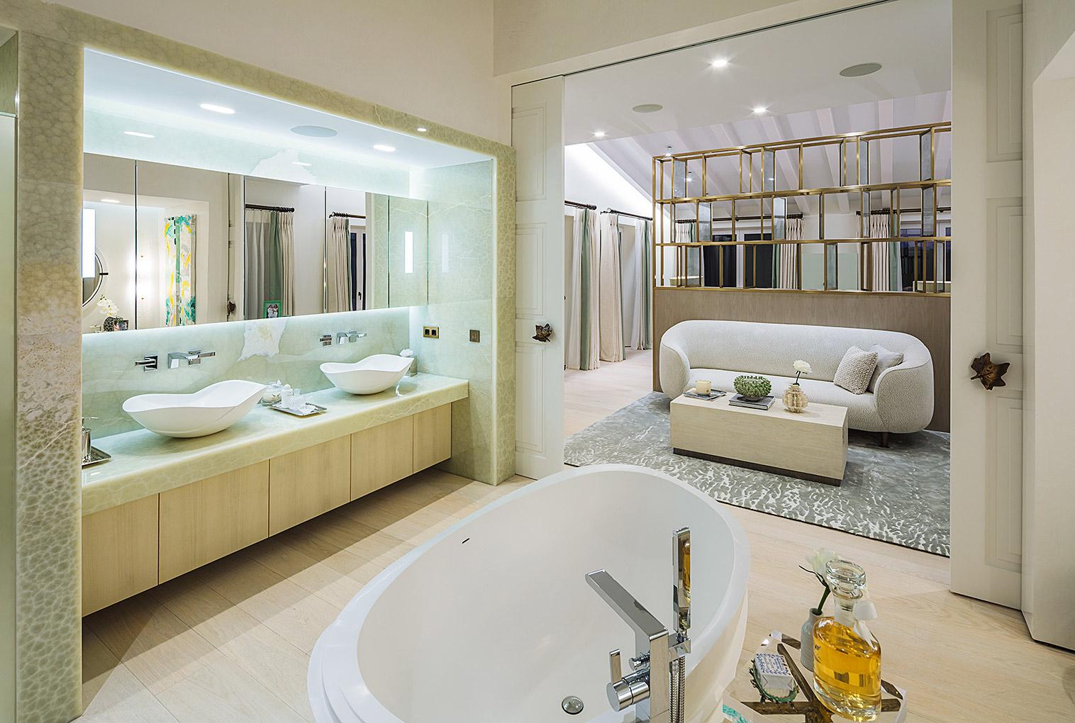 Luxus Bad, Villa Mallorca, Fotoaufnahmen